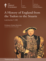 A History of England from the Tudors to the Stuarts (Transcript)