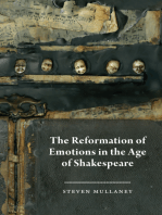 The Reformation of Emotions in the Age of Shakespeare