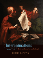 Interanimations: Receiving Modern German Philosophy