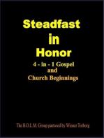 Steadfast In Honor