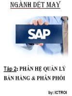 Phân Hệ Bán Hàng và Phân Phối SAP AFS Ngành DỆT MAY
