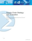 Research Report on Supply Chain Strategy and Evaluation