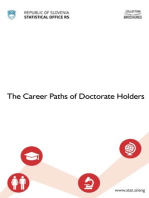 The Careers Paths of Doctorate Holders