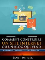 Comment construire un site internet ou un blog qui vend