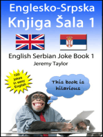 Englesko-Srpska Knjiga Šala 1 (The English Serbian Joke Book 1)
