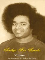 Sathya Sai Speaks Volume 1