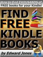 Find free Kindle books