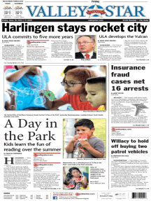 The Valley Morning Star - 06-19-2015
