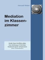 Mediation im Klassenzimmer