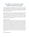 Case Study on Loophole for Giants e-Business Market holders - FlipKart, Amazon & Snapdeal