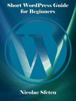 Short WordPress Guide for Beginners