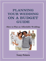 Planning Your Wedding On A Budget