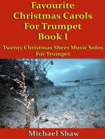 Favourite Christmas Carols For Trumpet Book 1