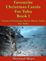 Favourite Christmas Carols For Tuba Book 1