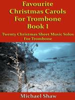 Favourite Christmas Carols For Trombone Book 1
