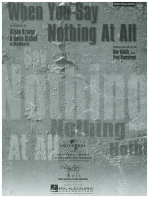 When You Say Nothing at All