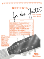 Beethoven for Guitar: Guitar Solo