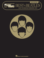 Best of the Beatles - 2nd Edition: E-Z Play Today Volume 112