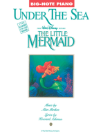 Under The Sea (From 'The Little Mermaid') - Big-Note Piano
