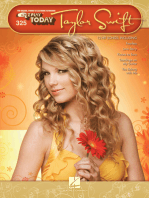 Taylor Swift: E-Z Play Today Volume 325