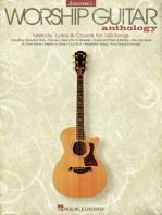 The Worship Guitar Anthology - Volume 1