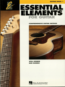 Essential Elements for Guitar - Book 1: Comprehensive Guitar Method