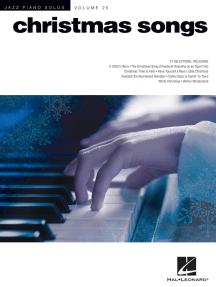 Christmas Songs: Jazz Piano Solos Series Volume 25