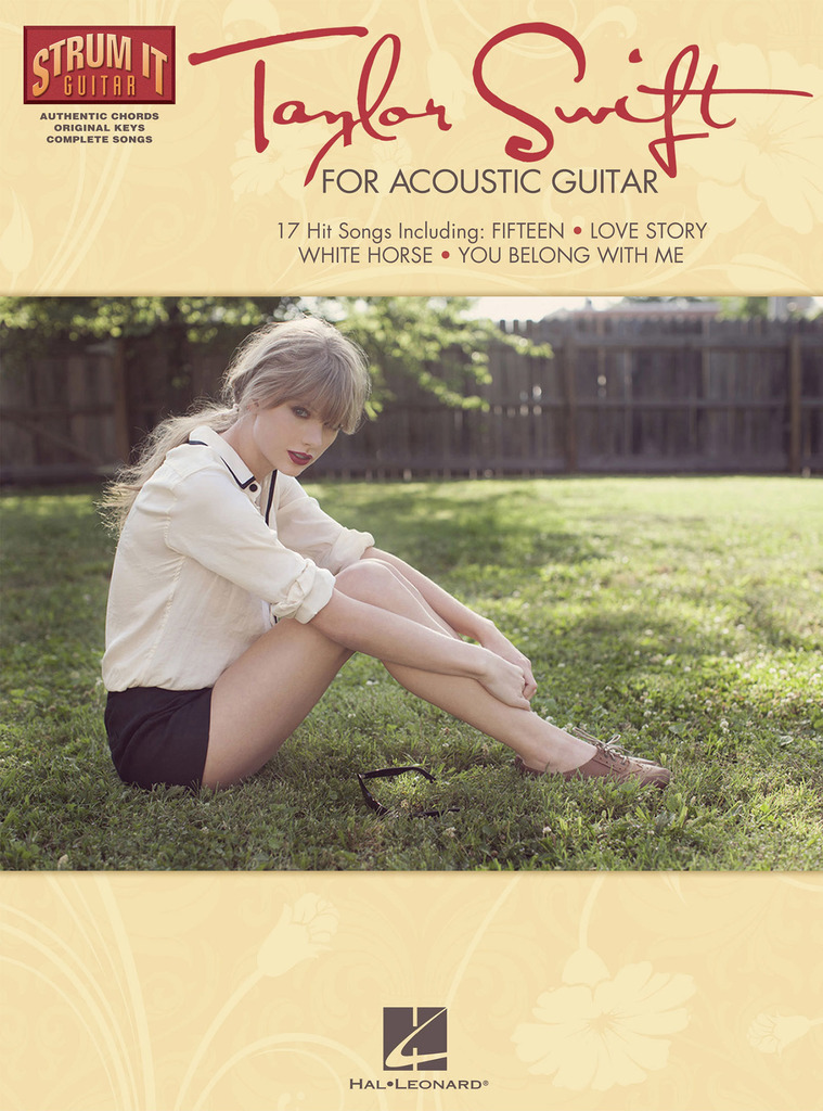 Taylor Swift For Acoustic Guitar By Taylor Swift By Taylor Swift
