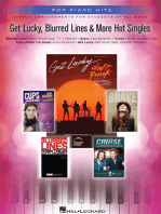 Get Lucky, Blurred Lines & More Hot Singles: Simple Arrangements for Students of All Ages