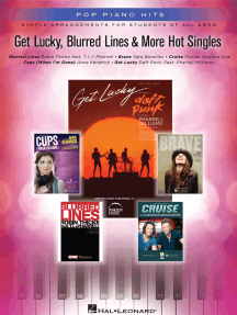 Get Lucky, Blurred Lines & More Hot Singles Songbook