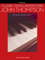 Classic Piano Repertoire - John Thompson