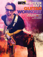 Guitar World Presents Steve Vai's Guitar Workout