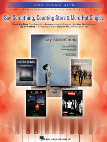 Say Something, Counting Stars & More Hot Singles: Simple Arrangements for Students of All Ages