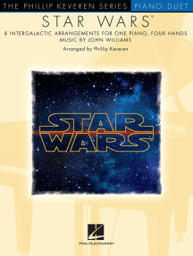Star Wars: arr. Phillip Keveren The Phillip Keveren Series Piano Duet NFMC 2020-2024 Selection