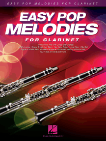 Easy Pop Melodies: for Clarinet