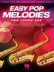 Easy Pop Melodies: for Tenor Sax