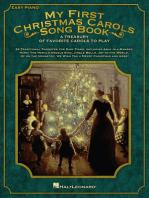 My First Christmas Carols Song Book: A Treasury of Favorite Carols to Play