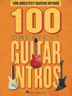 100 Greatest Guitar Intros
