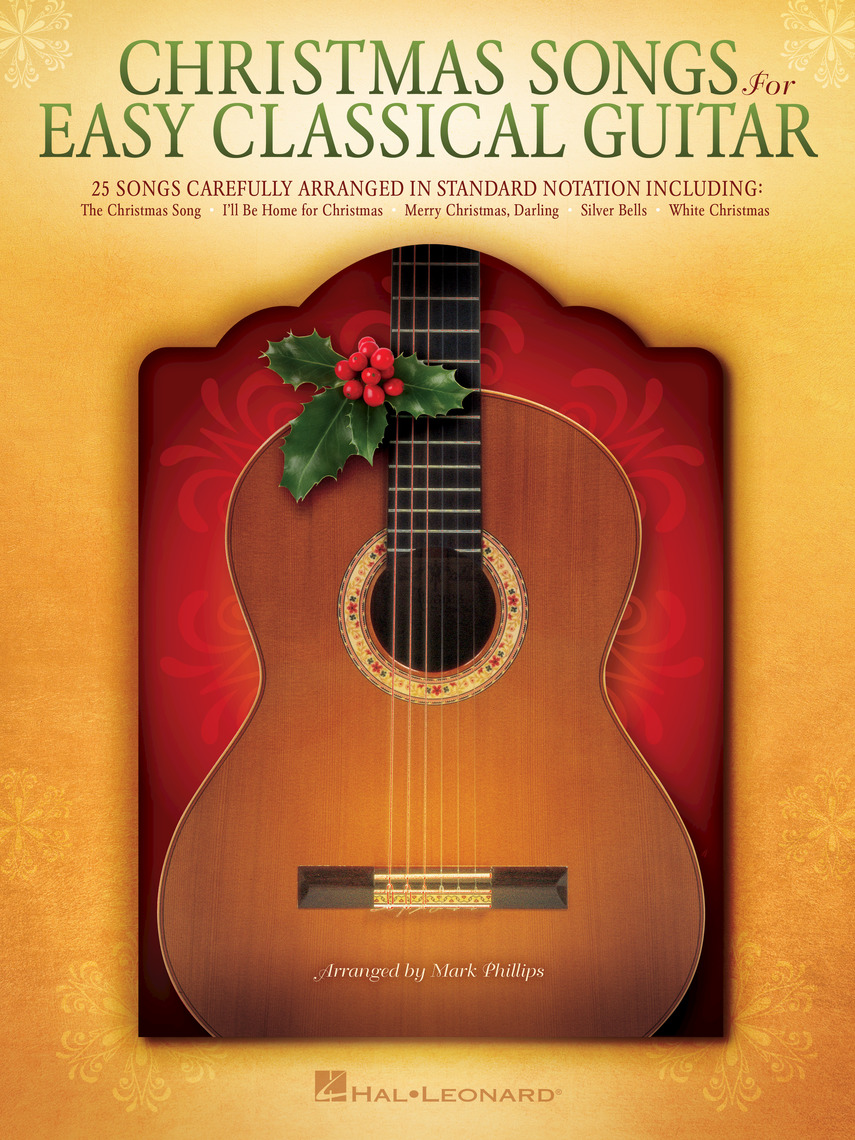 Christmas Songs for Easy Classical Guitar - Sheet Music