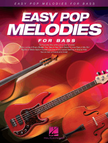 Easy Pop Melodies: For Bass