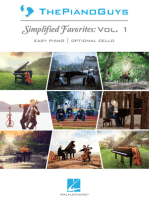 The Piano Guys -¦Simplified Favorites, Vol. 1