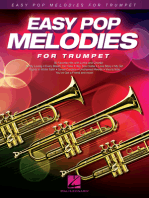Easy Pop Melodies: for Trumpet