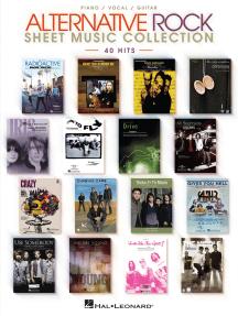 Alternative Rock Sheet Music Collection: 40 Hits