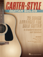 Carter-Style Guitar Solos