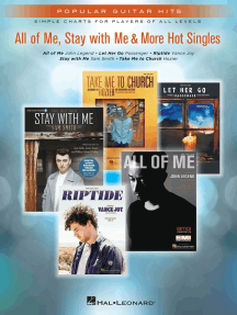 All of Me, Stay With Me & More Hot Singles: Popular Guitar Hits Simple Charts for Players of All Levels