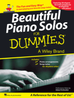 Beautiful Piano Solos for Dummies