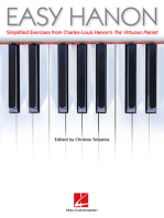 Easy Hanon: Simplified Exercises from Charles-Louis Hanon's The Virtuoso Pianist