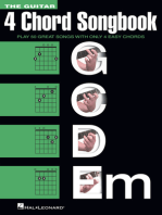 The Guitar Four-Chord Songbook G-C-D-Em