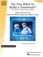Do You Want to Build a Snowman? (from Frozen)