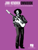 Jimi Hendrix Omnibook: for C Instruments